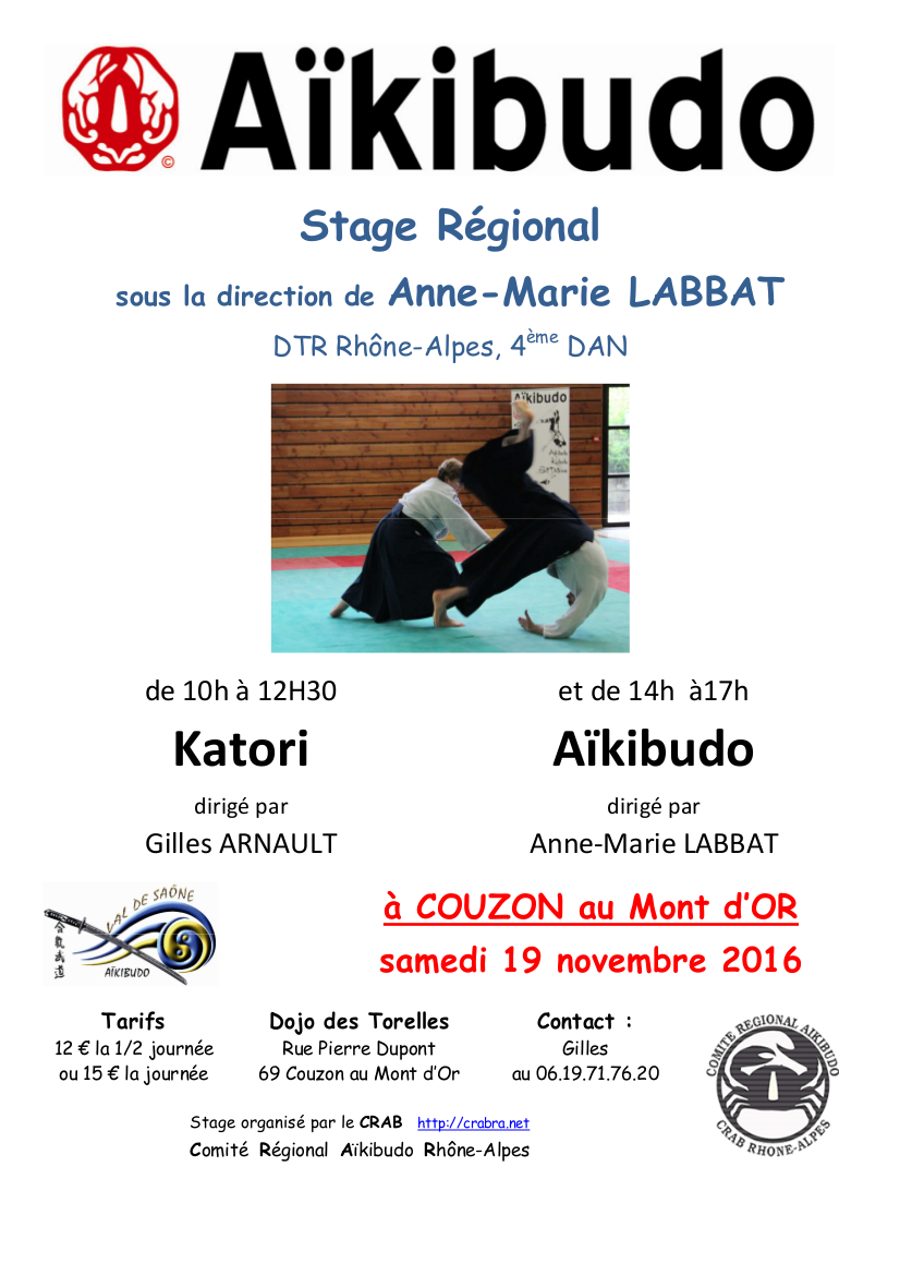 Stage regional couzon 2016 11 19 1