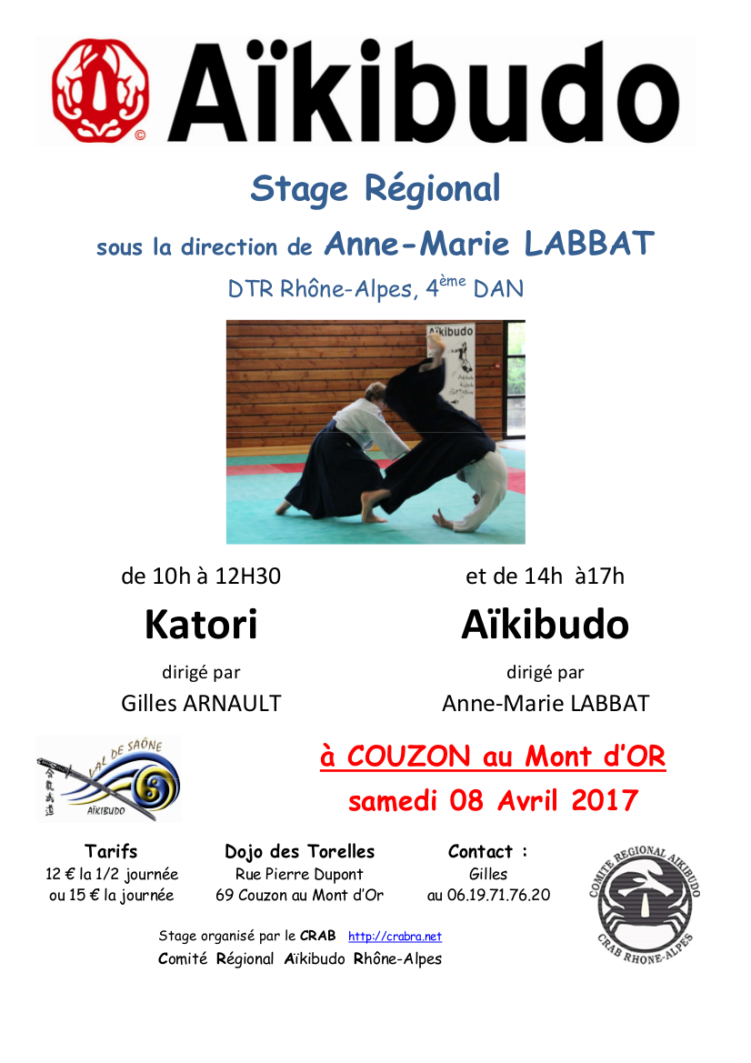 Stage regional couzon 2017 04 08